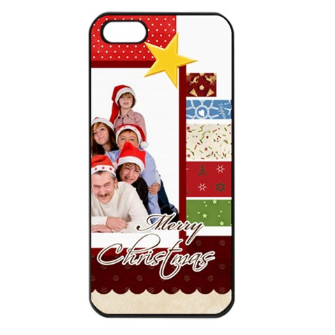 Merry Christmas By Betty   Apple Iphone 5 Seamless Case (black)   Dn4pe7x3d13w   Www Artscow Com Front