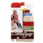 merry christmas - Samsung Galaxy Note Hardshell Case
