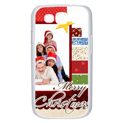 Merry Christmas By Betty   Samsung Galaxy S Iii Case (white)   1knt99qzv0t4   Www Artscow Com Front