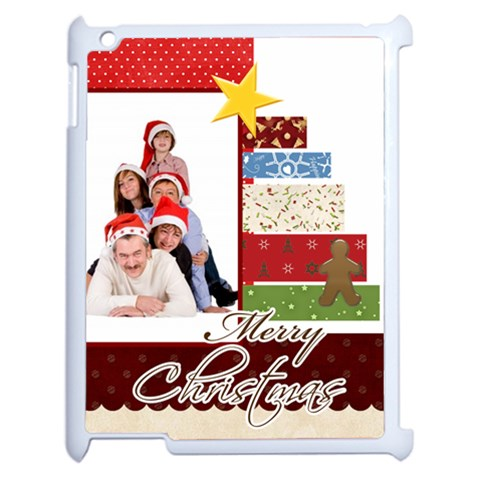 Merry Christmas By Betty   Apple Ipad 2 Case (white)   4djrsfd83g0o   Www Artscow Com Front