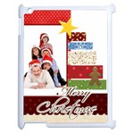 merry christmas - Apple iPad 2 Case (White)