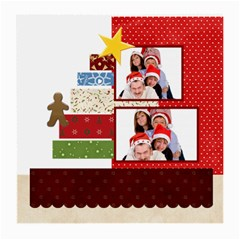 Merry Christmas By Betty   Medium Glasses Cloth (2 Sides)   7tf6t2jpvgd6   Www Artscow Com Back