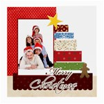merry christmas - Glasses Cloth (Medium)