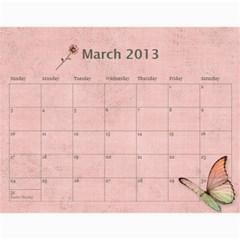 Wendy By Wendy   Wall Calendar 11  X 8 5  (12 Months)   Oh84s4bz23y9   Www Artscow Com Mar 2013