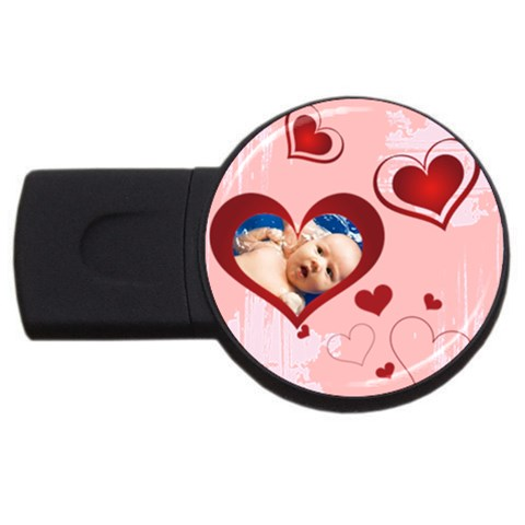 Merry Christmas, Xmas, Happy New Year  By Wood Johnson   Usb Flash Drive Round (1 Gb)   J575a9rzan3z   Www Artscow Com Front