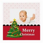 merry christmas, xmas, happy new year  - Glasses Cloth (Medium)