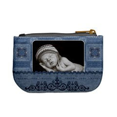 Denim Look Mini Coin Purse By Lil    Mini Coin Purse   Nbnxnv4rydfh   Www Artscow Com Back