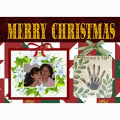 Mommy And Me Christmas Photo Card By Kim Blair   5  X 7  Photo Cards   12z4op042yxe   Www Artscow Com 7 x5 Photo Card - 1
