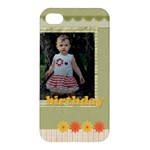 birthday - Apple iPhone 4/4S Premium Hardshell Case