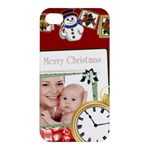 Merry Christmas - Apple iPhone 4/4S Premium Hardshell Case