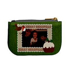 Christmas Fuzzy Felt Mini Purse By Claire Mcallen   Mini Coin Purse   632u1gzjj3go   Www Artscow Com Back