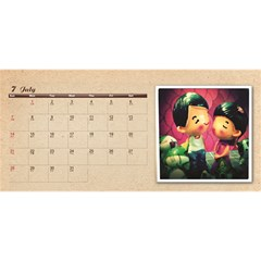 G88 Cal By Kitty   Desktop Calendar 11  X 5    Fp7iehei0nq7   Www Artscow Com Jul 2013