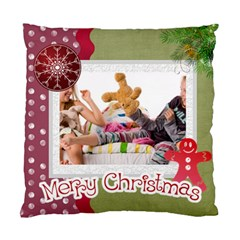 Merry Christmas By Betty   Standard Cushion Case (two Sides)   Uvoskvwpiiak   Www Artscow Com Back