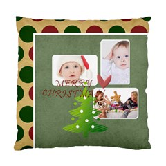 Merry Christmas By Betty   Standard Cushion Case (two Sides)   Yckxra7llya6   Www Artscow Com Back