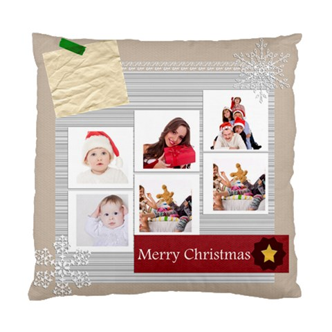 Merry Christmas By Betty   Standard Cushion Case (one Side)   1662ae9a6pwb   Www Artscow Com Front