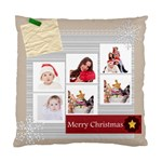 merry christmas - Standard Cushion Case (One Side)