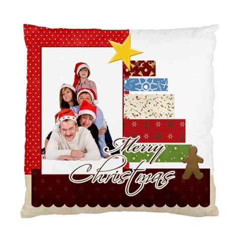 Merry Christmas By Betty   Standard Cushion Case (one Side)   Llo1r4xargt2   Www Artscow Com Front