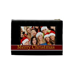 Christmas By Angena Jolin   Cosmetic Bag (medium)   B9n1eauhlu1z   Www Artscow Com Back