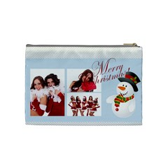 Christmas By Angena Jolin   Cosmetic Bag (medium)   Vwh8j61d2lr8   Www Artscow Com Back