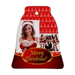 merry christmas - Ornament (Bell)