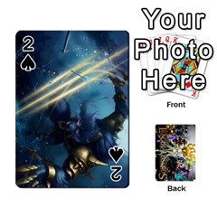 Lol Cards By Dillon   Playing Cards 54 Designs   2kkgwcheyu4n   Www Artscow Com Front - Spade2