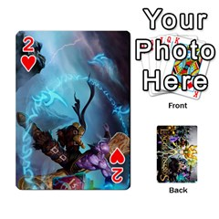 Lol Cards By Dillon   Playing Cards 54 Designs   2kkgwcheyu4n   Www Artscow Com Front - Heart2