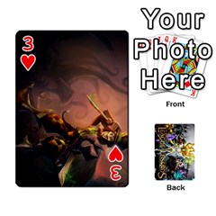 Lol Cards By Dillon   Playing Cards 54 Designs   2kkgwcheyu4n   Www Artscow Com Front - Heart3