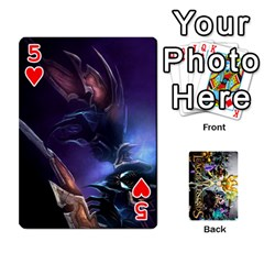 Lol Cards By Dillon   Playing Cards 54 Designs   2kkgwcheyu4n   Www Artscow Com Front - Heart5