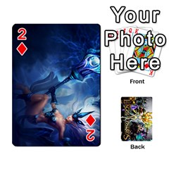 Lol Cards By Dillon   Playing Cards 54 Designs   2kkgwcheyu4n   Www Artscow Com Front - Diamond2