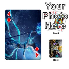 Lol Cards By Dillon   Playing Cards 54 Designs   2kkgwcheyu4n   Www Artscow Com Front - Diamond4