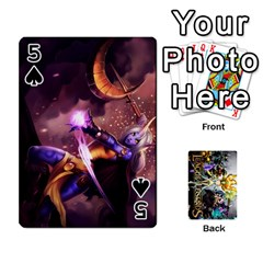 Lol Cards By Dillon   Playing Cards 54 Designs   2kkgwcheyu4n   Www Artscow Com Front - Spade5