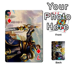 Lol Cards By Dillon   Playing Cards 54 Designs   2kkgwcheyu4n   Www Artscow Com Front - Diamond7