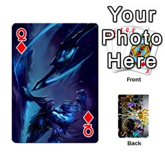 Queen Lol Cards By Dillon   Playing Cards 54 Designs   2kkgwcheyu4n   Www Artscow Com Front - DiamondQ