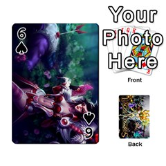 Lol Cards By Dillon   Playing Cards 54 Designs   2kkgwcheyu4n   Www Artscow Com Front - Spade6