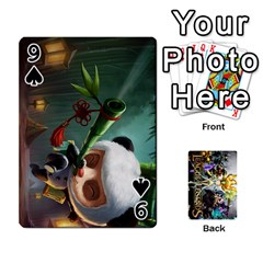 Lol Cards By Dillon   Playing Cards 54 Designs   2kkgwcheyu4n   Www Artscow Com Front - Spade9
