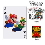 Mario - Playing Cards 54 Designs