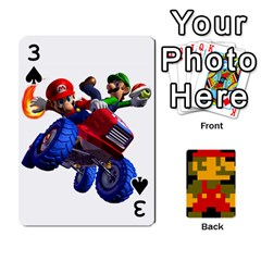 Mario By Cheesedork   Playing Cards 54 Designs   9pedszp4ty4p   Www Artscow Com Front - Spade3
