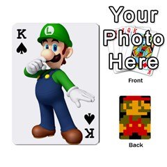 King Mario By Cheesedork   Playing Cards 54 Designs   9pedszp4ty4p   Www Artscow Com Front - SpadeK