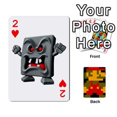 Mario By Cheesedork   Playing Cards 54 Designs   9pedszp4ty4p   Www Artscow Com Front - Heart2