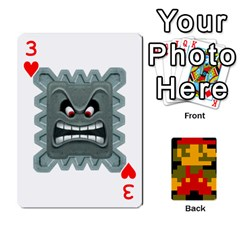 Mario By Cheesedork   Playing Cards 54 Designs   9pedszp4ty4p   Www Artscow Com Front - Heart3