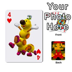 Mario By Cheesedork   Playing Cards 54 Designs   9pedszp4ty4p   Www Artscow Com Front - Heart4
