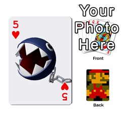 Mario By Cheesedork   Playing Cards 54 Designs   9pedszp4ty4p   Www Artscow Com Front - Heart5