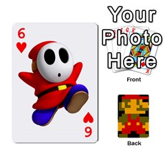 Mario By Cheesedork   Playing Cards 54 Designs   9pedszp4ty4p   Www Artscow Com Front - Heart6