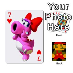 Mario By Cheesedork   Playing Cards 54 Designs   9pedszp4ty4p   Www Artscow Com Front - Heart7