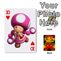 Mario By Cheesedork   Playing Cards 54 Designs   9pedszp4ty4p   Www Artscow Com Front - Heart10