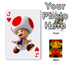 Jack Mario By Cheesedork   Playing Cards 54 Designs   9pedszp4ty4p   Www Artscow Com Front - HeartJ