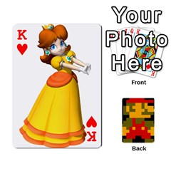 King Mario By Cheesedork   Playing Cards 54 Designs   9pedszp4ty4p   Www Artscow Com Front - HeartK