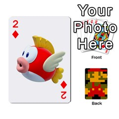 Mario By Cheesedork   Playing Cards 54 Designs   9pedszp4ty4p   Www Artscow Com Front - Diamond2