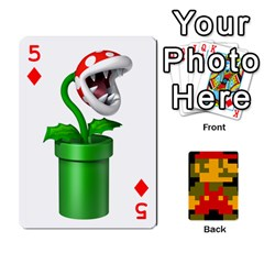 Mario By Cheesedork   Playing Cards 54 Designs   9pedszp4ty4p   Www Artscow Com Front - Diamond5