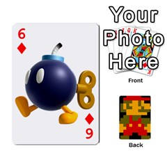 Mario By Cheesedork   Playing Cards 54 Designs   9pedszp4ty4p   Www Artscow Com Front - Diamond6